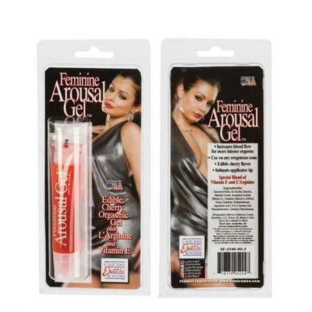 Feminine Arousal Gel - Cherry - 0.5 Fl. Oz.