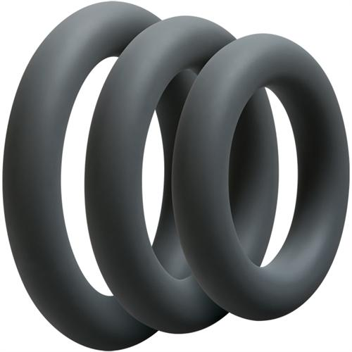 Optimale 3 C Ring Set - Thick - Slate DJ0690-05