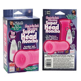 Sue Johanson Glow-in-the-Dark Vibrating Super Head Honcho - Pink