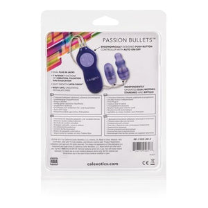 Passion Bullets Bullet and Multi Probe Bullet - Purple