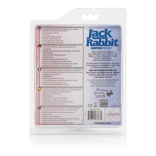 Silicone Jack Rabbit One Touch - Blue