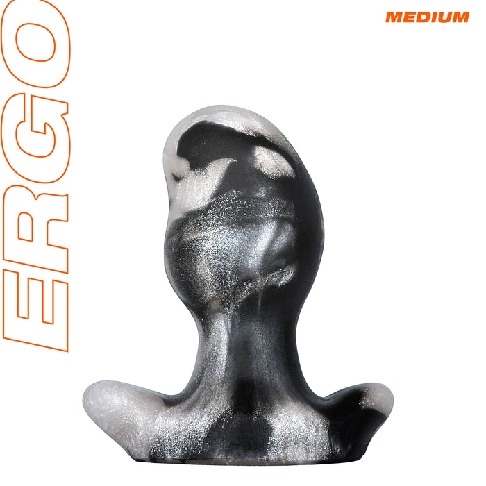 my-hm-store Ergo Butt Plug - Medium - Platinum Swirl.