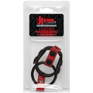 Leather Master Ring DJ2404-43-CD
