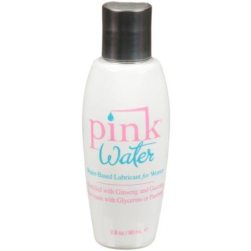 Pink Water Based Lubricant for Women - 2.8  Oz. / 80 ml