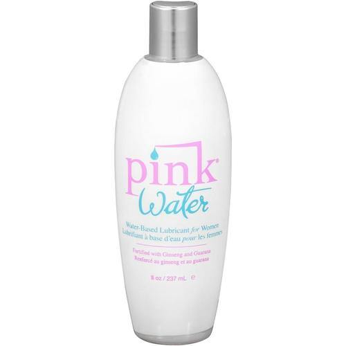 Pink Water Based Lubricant for Women 8 Oz Flip Top Bottle