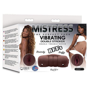 Mistress Double Stroker Brandy and Buffy  -  Chocolate