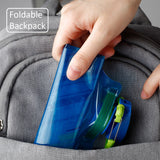 Environmental Protection Collapsible Water Bottle Bags  W/700ml capacity