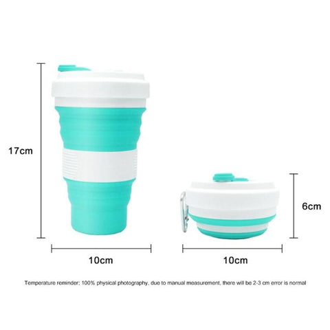 Durable Folding Silicone Cup