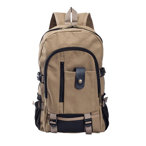 Large-capacity Canvas Backpack