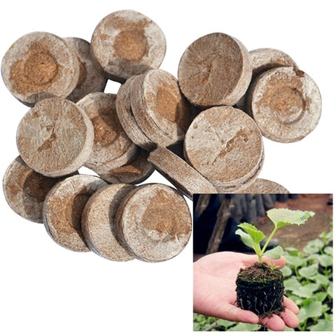 15pcs Plant Peat Pellets Seed Starting Plugs