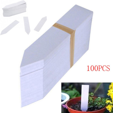 100 Pcs Plastic Seed Labels
