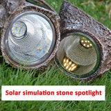 Waterproof Stone Solar LED Lawn Lamps