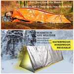Emergency Aluminum Film Sleeping Bag