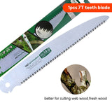 10 inch 7T/9T/12T Folding Outdoor Wood Saw