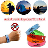 10Pcs Bugs Repellent  Wrist Bands