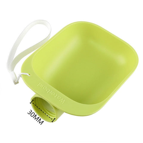 Easy To Carry Pet Outdoor Drinking Device