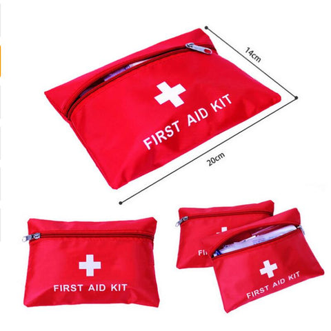 Portable Emergency First Aid Kit Pouch