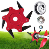 6 Steel Blades  Grass Trimmer Head