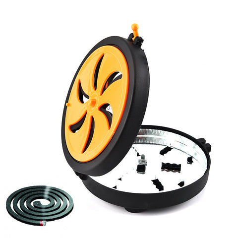 Portable Outdoor Mosquito Incense Coil Holder