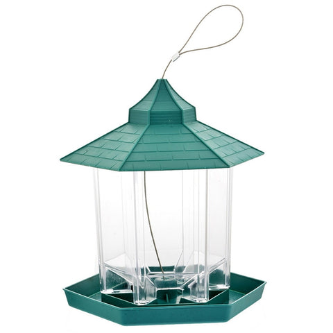 Dozzlor Green Hanging  Bird Feeder