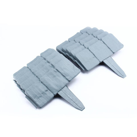 10 PCS Plastic Faux Stone Border Edging