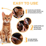 Up To 8 Month Flea And Tick Collar Dogs/Cats 2Pcs