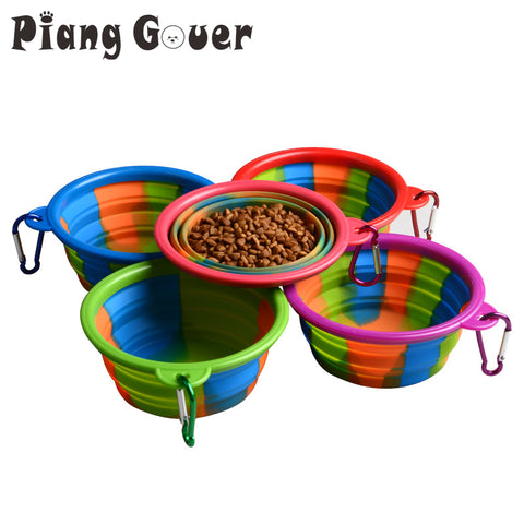 Silicone Portable Folding Bowls