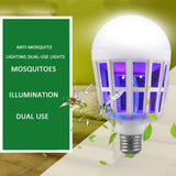 Three Stage Dual-Purpose Anti Mosquito Bulb W/LED Lamp