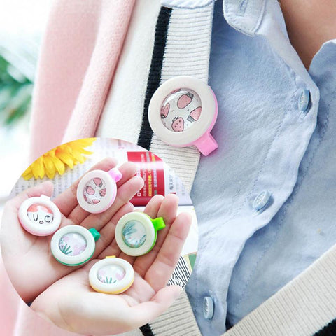 4pcs Portable Child Mosquito Repellent Buttonsl