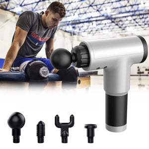 Muscle Relaxation Vibration Massage Gun Fitness Equipment Fascia Pain Relieve Device