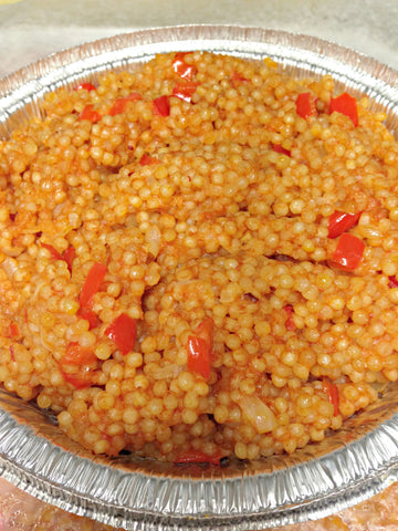 Bhurgal and Chickpeas