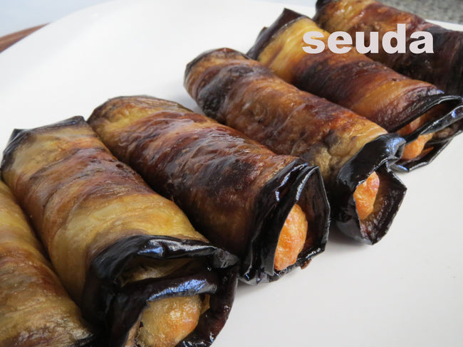 Eggplant Cheese Roll-Ups.