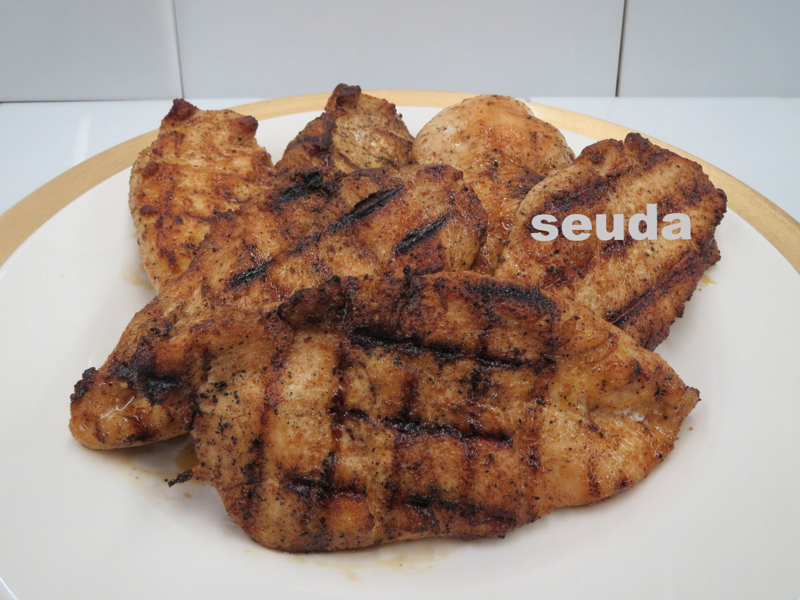 Full Cutlet Grilled Chicken Breast.