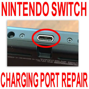Nintendo switch Charging port repair