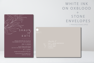 The Kate - Wedding Invitation