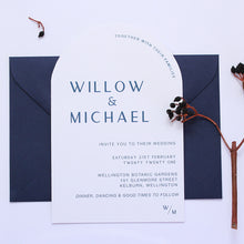 Load image into Gallery viewer, The Earth Arch - Wedding Invitation
