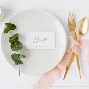 The Indie Handmade - Place Card