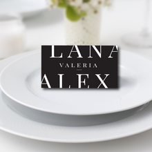 Load image into Gallery viewer, The Alex - Guest Place Card
