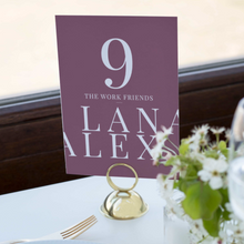 Load image into Gallery viewer, The Alex - Table Numbers