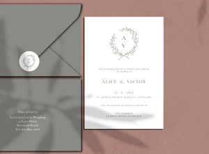 The Alice - Wedding Invitation