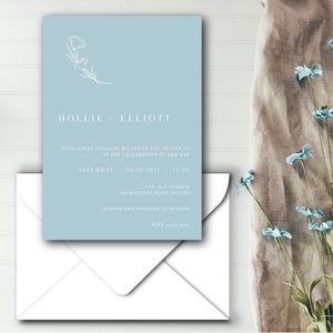 The Hollie - Wedding Invitation
