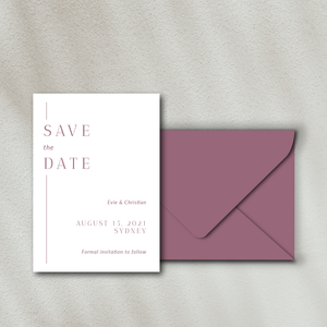 The Evie - Save the Date