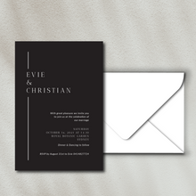 Load image into Gallery viewer, The Evie - Wedding Invitation