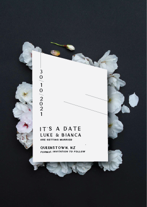 15° South - Save the Date Cards