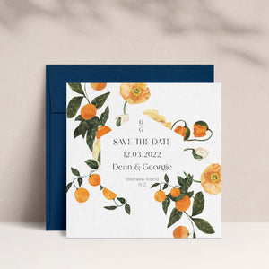 The Georgie | Save the Date Card