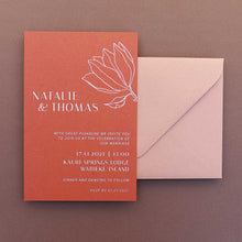 Load image into Gallery viewer, The Natalie - Wedding Invitation