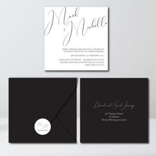 Load image into Gallery viewer, The Michelle - Wedding Invitation