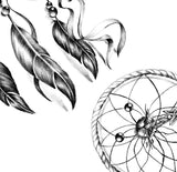 3 x sexy dreamcatchers tattoo design high resolution download