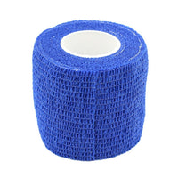 blue bandage cohesive wrap for tattoo session by tattoodesignstock