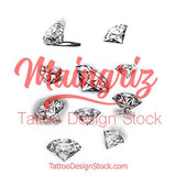 chicano diamond tattoo design high resolution download by tattoo artist